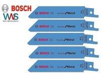 BOSCH 5x Säbelsägeblatt S 522 EF für...