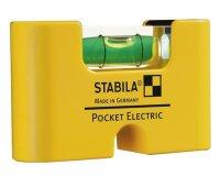 Stabila Wasserwaage Pocket Electric, 7 cm