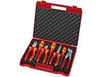 Knipex Werkzeug-Box 7-teilig für die Elektromontage