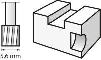 Bosch Hochgeschwindigkeits-Fräsmesser 5,6 mm