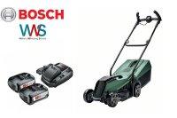 Bosch Akku Rasenmäher 18V CityMower + 2x Akku 2,5Ah...