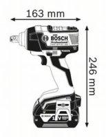 Bosch Akku Drehschlagschrauber GDS 18 V-EC 250 inkl 2x...