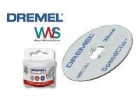 DREMEL 12x SpeedClic Metall Trennscheiben SC456B Neu und...