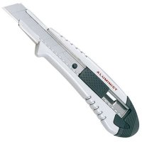 Tajima Aluminist Cutter Messer 25mm, mit Schraube, silber