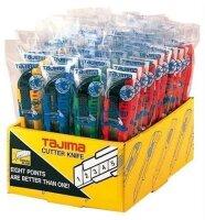 Tajima Autom. Cuttermesser 18 mm + 3 Klingen, 4-farbig,...