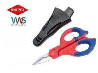 Knipex Elektrikerschere Schere 95 05 155 Kabelschere Neu!!!