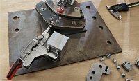 BESSEY Schubstangenspanner mit abgewinkelter Grundplatte...
