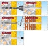 TOX Dämmstoffhalter Keeper 8 x 180 mm, 250 Stück