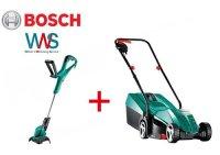 Bosch ARM 32 Elektro Rasenmäher + ART 24...
