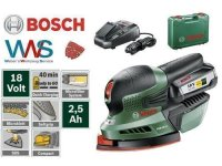 BOSCH PSM 18 Li Akku Multischleifer Schwingschleifer...